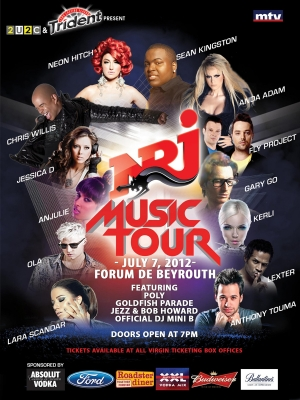 NRJ Music Tour 2012