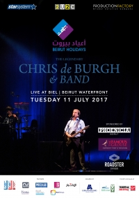 Chris De Burgh in Beirut Holidays